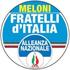 Simbolo Lista FRATELLI D'ITALIA - ALLEANZA NAZIONALE
