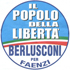 Simbolo Lista Il Popolo Della Libertà Berlusconi per Faenzi