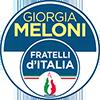 Simbolo Lista FRATELLI D'ITALIA CON GIORGIA MELONI