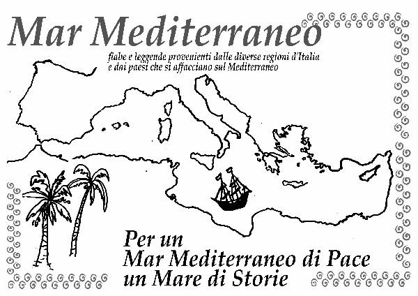 Illustrazione del Mar Mediterraneo