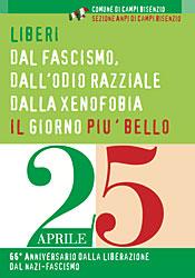 Manifesto del 25 aprile 2011