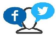 Icone di Facebook e Twitter