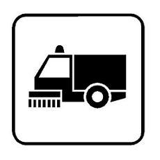 simbolo spazzatrice del Codice della Strada