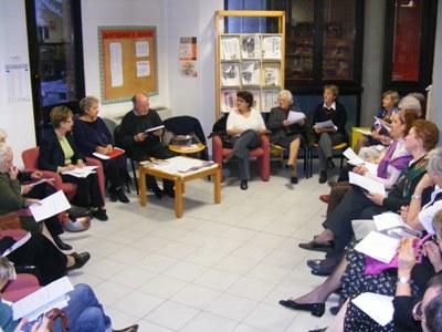 Riunione di un gruppo di lettura