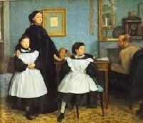 La famiglia Bellelli, dipinto di Degas