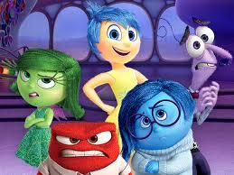 Personaggi del cartoon Inside out