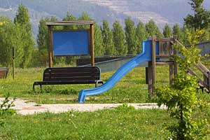 Parco Fluviale del Marinella con gioco - Foto Marcello Ballerini