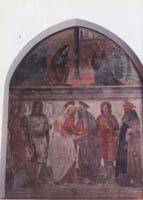 Affresco all'interno della Chiesa di San Martino - foto di Andrea Bonfanti