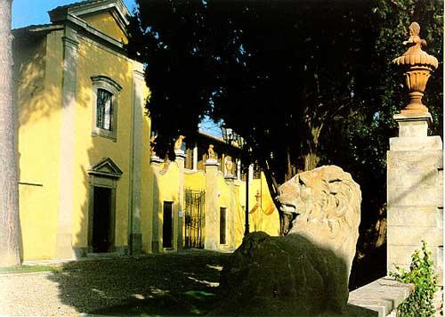Ingresso di Villa Montalvo - foto Sandro Bedessi