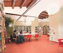 Zona consultazione in Sala Ragazzi