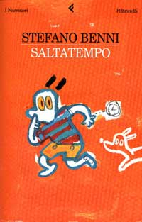 Immagine della copertina del libro Saltatempo di Stefano Benni