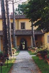 Giardino interno di Villa Montalvo