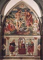 Particolare interno Chiesa di Sant'Andrea a San Donnino - foto tratta da Il Museo di Arte Sacra di San Donnino a Campi Bisenzio