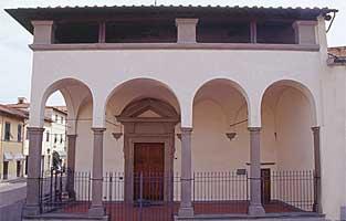 Ingresso al Museo Arte Sacra - foto Sandro Bedessi