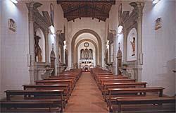 Interno Chiesa di San Donnino - foto tratta da Il Museo di Arte Sacra di San Donnino a Campi Bisenzio