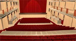 Il teatro, immagine sintetica
