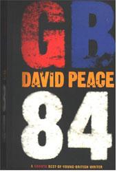Immagine della copertina del libro GB84 di David Peace