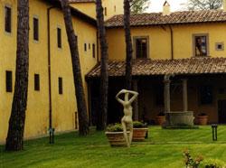 Giardino interno a Villa Montalvo