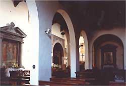 Interno Chiesa di Santa Maria - foto di Andrea Bonfanti