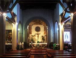 Interno Chiesa di San Lorenzo - foto di Marcello Ballerini