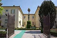 Cancello con entrata a Villa Rucellai - Foto ufficio stampa