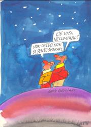 vignetta Giuliano Un ci resta che ridere