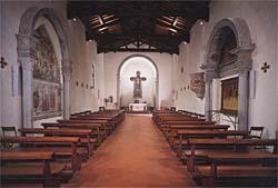 Interno Chiesa di Sant'Andrea a San Donnino - foto tratta da Il Museo di Arte Sacra di San Donnino a Campi Bisenzio
