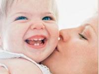immagine di mamma con bambino