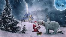 Babbo Natale con Orso
