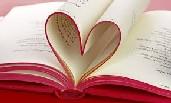 Libro con pagine a forma di cuore