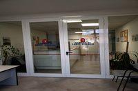Entrata agli uffici di Via Castronella