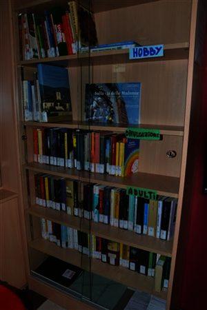 Immagine dello scaffale librario