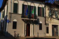 Entrata agli uffici di Piazza Fra Ristoro